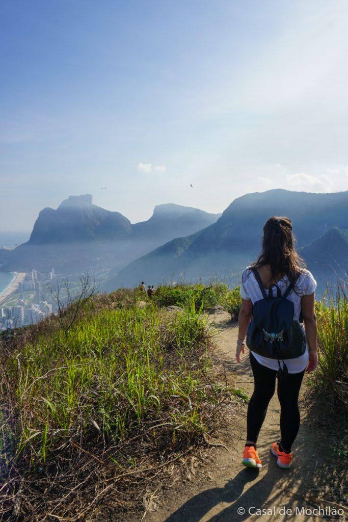 Trilha do Morro Dois Irmãos na cidade do Rio de Janeiro