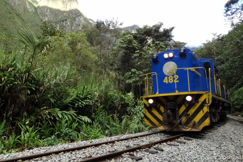 Como ir a Machu Picchu: Trem, como chegar