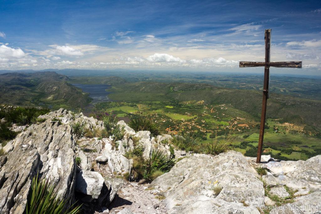 Vista do topo do Pico da Lapinha