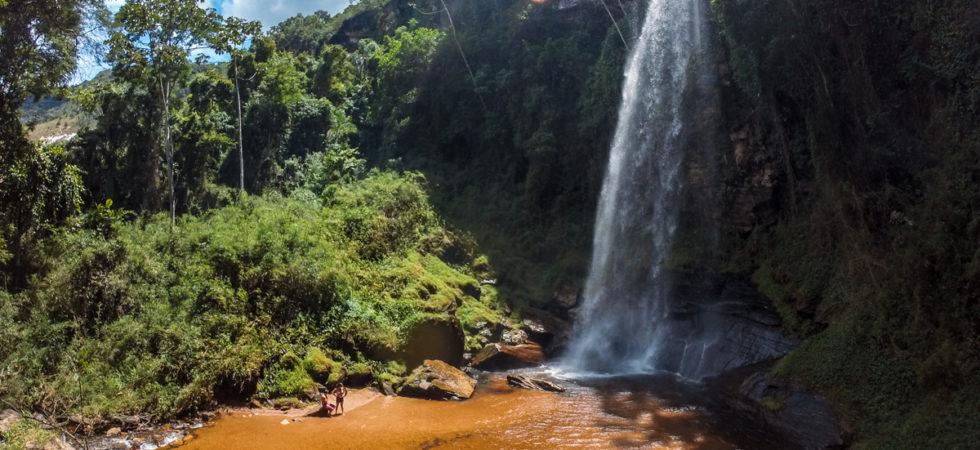 Complexo da Cachoeira do Arco-íris em Lima Duarte, Minas Gerais