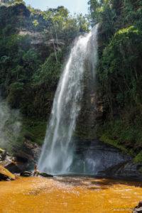 Cachoeira do Arco-íris em Lima Duarte, Minas Gerais