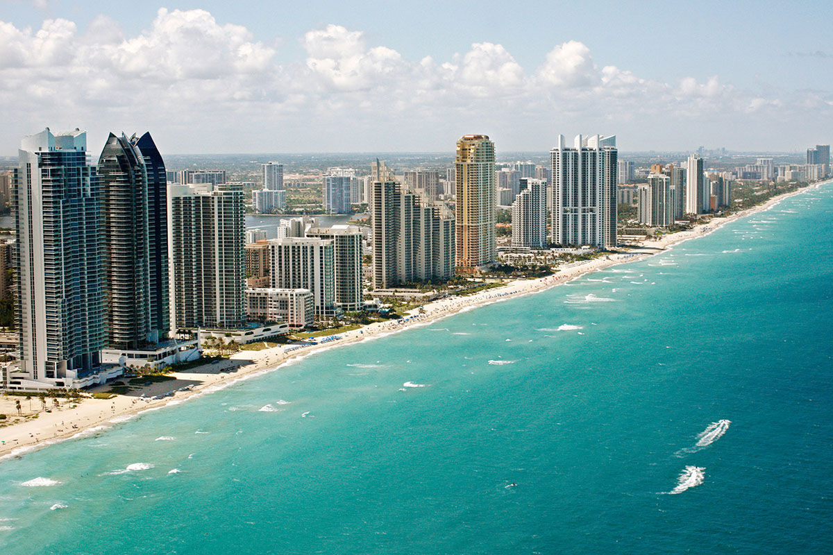 Miami Beach na Flórida