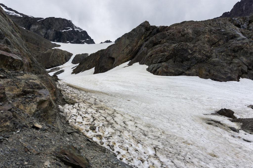 Glaciar Martial em Ushuaia, Patagônia Argentina