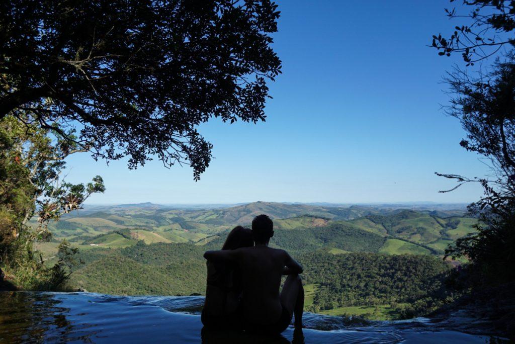 Janela do céu no Parque Estadual de Ibitipoca, Minas Gerais